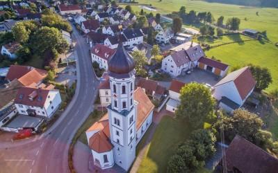 Luftaufnahme Neusäß-Täfertingen