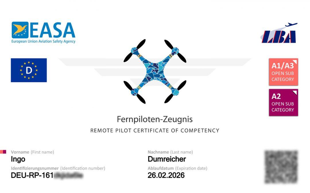 Fernpilotenführerschein A2